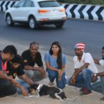 Suchitra S Rao advocating Magic Collars, a Campaign that will prevent Animals from roadkills